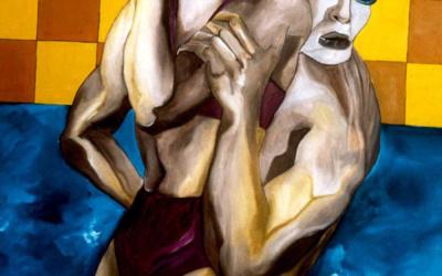 Peintures Huile Contemporaines 1990